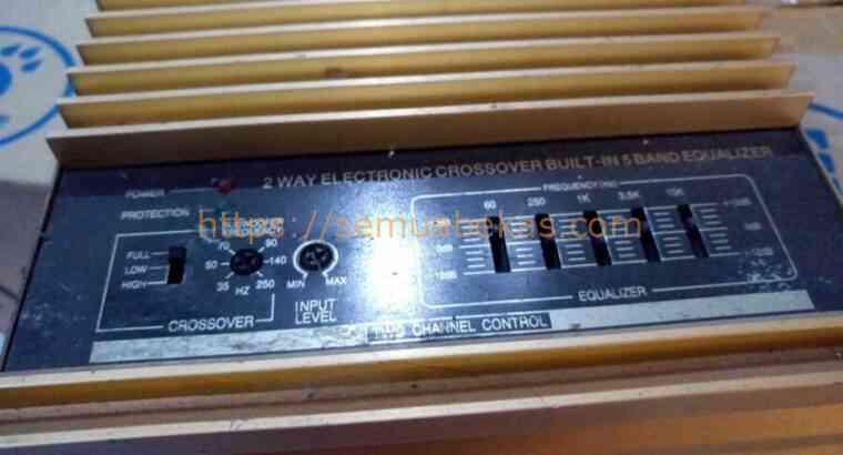 Power amp BSE s-740