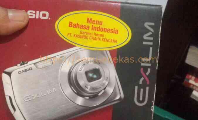 Kamera pocket Casio exilim