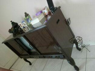 Tv kabinet kayu Sanyo