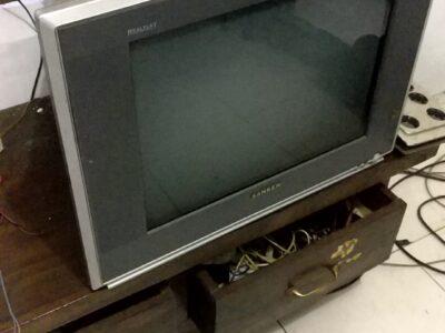 TV tabung portable sanken
